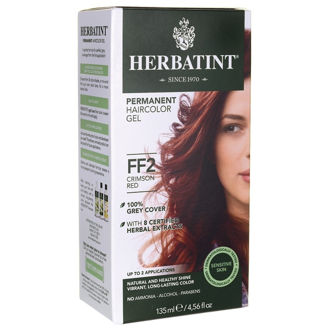 HerbatintPermanent Haircolor Gel FF2 Crimson Red