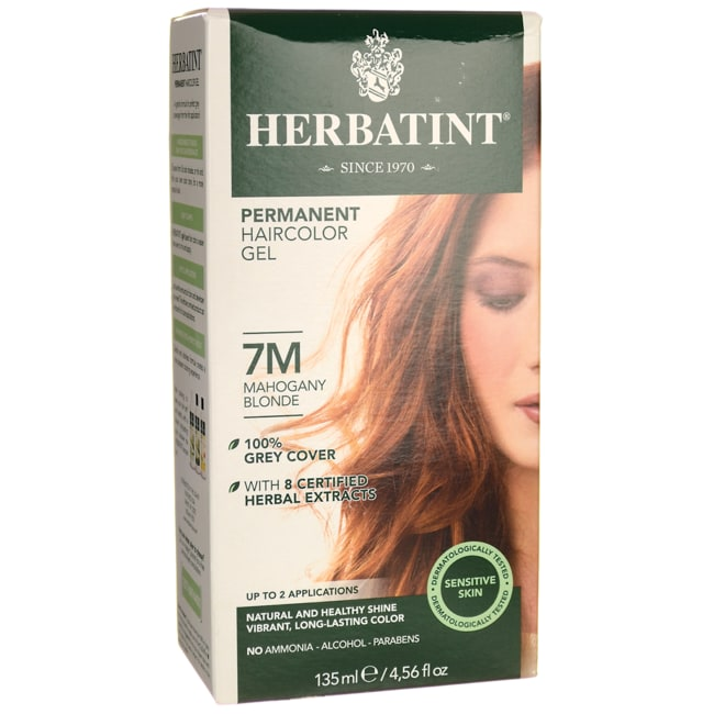 HerbatintPermanent Haircolour Gel 7M Mahogany Blonde