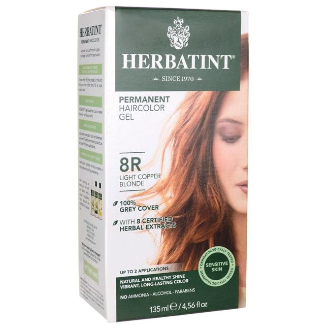 HerbatintPermanent Haircolour Gel 8R Light Copper Blonde