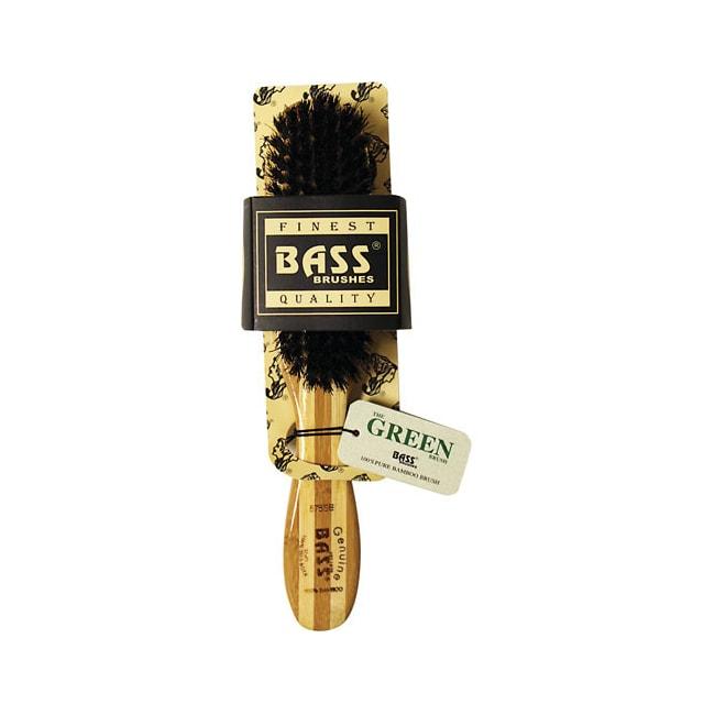 Bass BrushesSemi Oval Wild Boar Soft Hair Brush