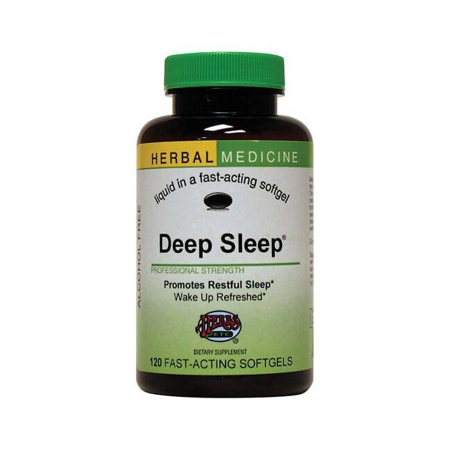 Herbs Etc. Deep Sleep Softgels