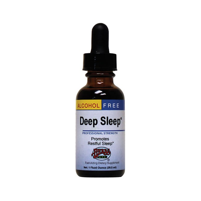Herbs Etc. Deep Sleep Alcohol Free