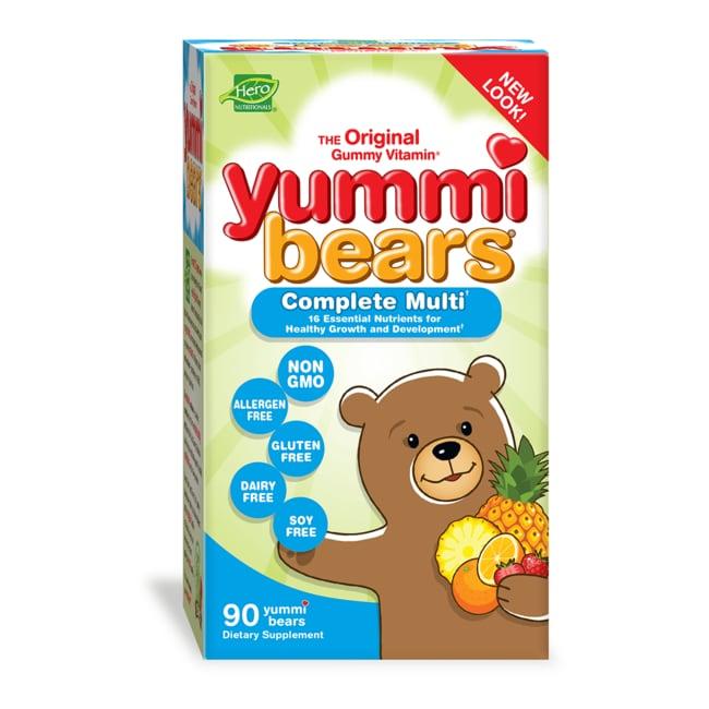 Hero Nutritionals Yummi Bears Multi-Vitamin & Mineral