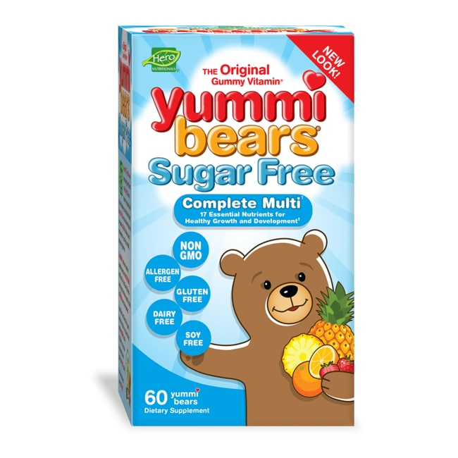 Hero NutritionalsYummi Bears Sugar Free Complete Multi-Vitamin