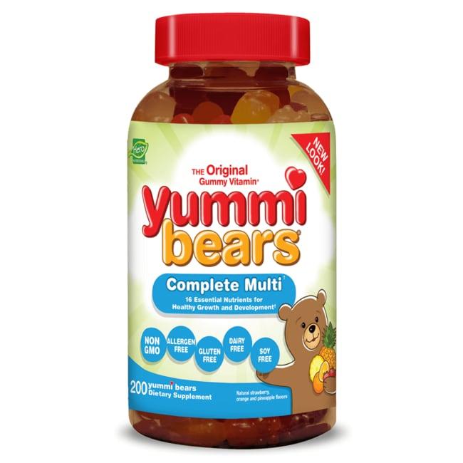 Hero NutritionalsYummi Bears Multi-Vitamin & Mineral