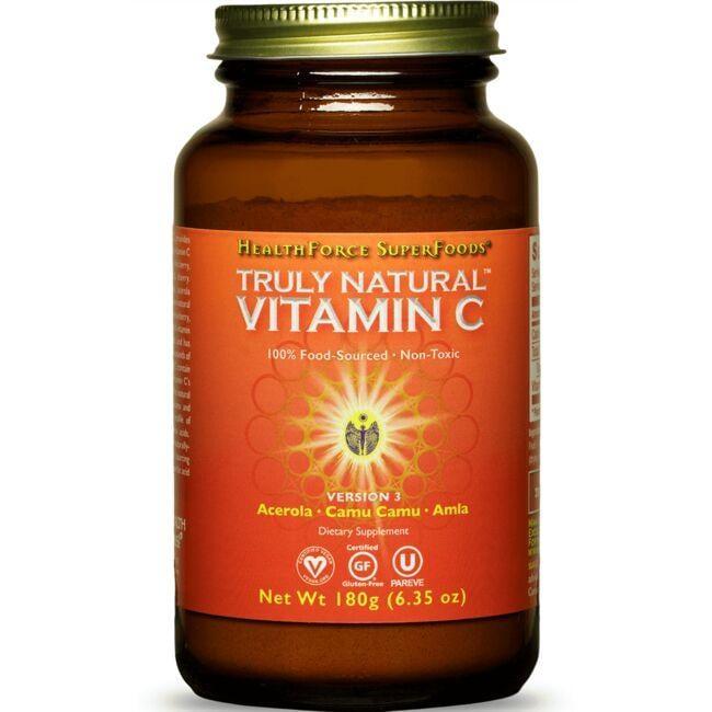 HealthForce NutritionalsTruly Natural Vitamin C
