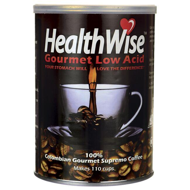 Healthwise Gourmet Coffee 100% Colombian Gourmet Supremo Coffee - Low Acid
