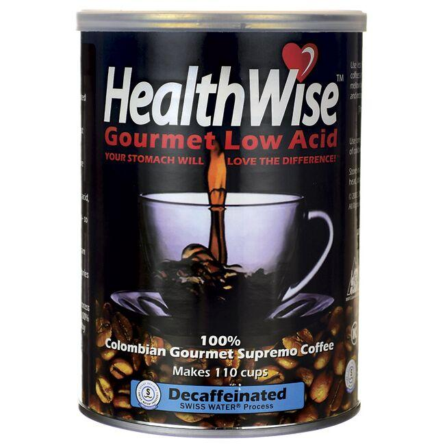Healthwise Gourmet Coffee100% Colombian Gourmet Supremo Coffee Low Acid Decaffeinated