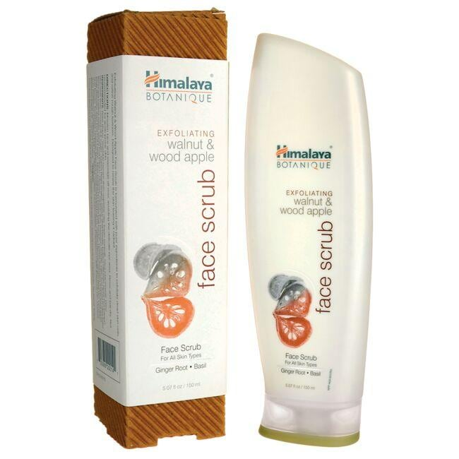 HimalayaBotanique Exfoliating Walnut & Wood Apple Face Scrub