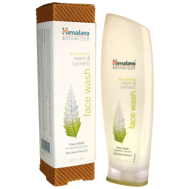Himalaya Herbal HealthcareBotanique Neem & Turmeric Face Wash