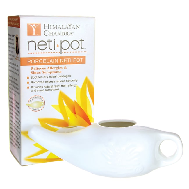 Himalayan Institute Neti Wash Ceramic Neti Pot