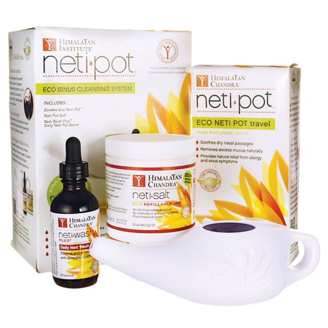 Himalayan Institute Neti Wash Eco Sinus Cleansing System