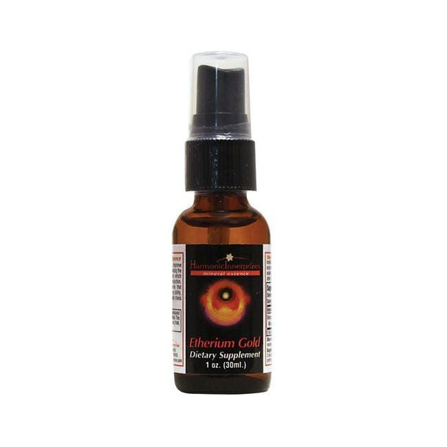 Harmonic Innerprizes Etherium Gold Mineral Essence
