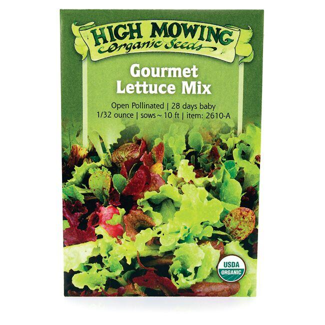 High Mowing Organic Seeds Gourmet Lettuce Mix