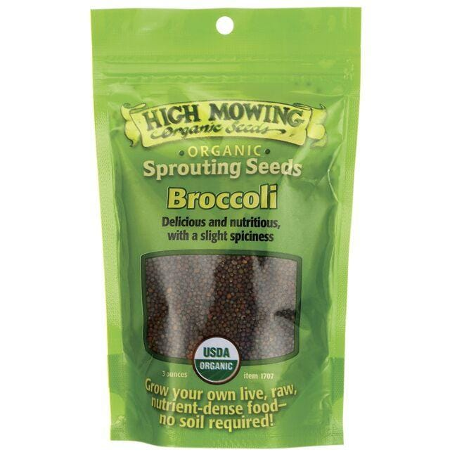 High Mowing Organic SeedsSprouting Seeds Broccoli