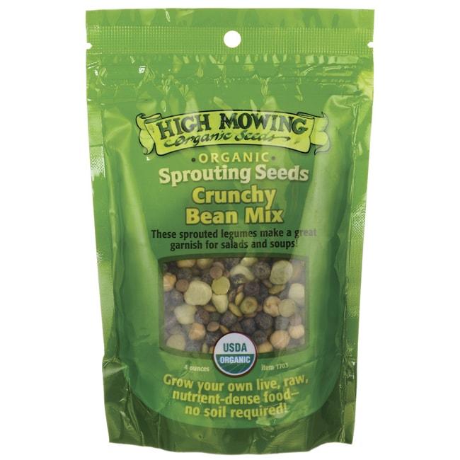 High Mowing Organic SeedsSprouting Seeds Crunchy Bean Mix