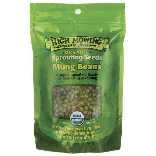 High Mowing Organic Seeds Sprouting Seeds Mung Beans