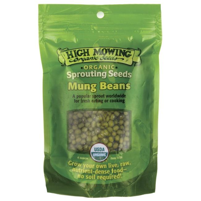 High Mowing Organic SeedsSprouting Seeds Mung Beans