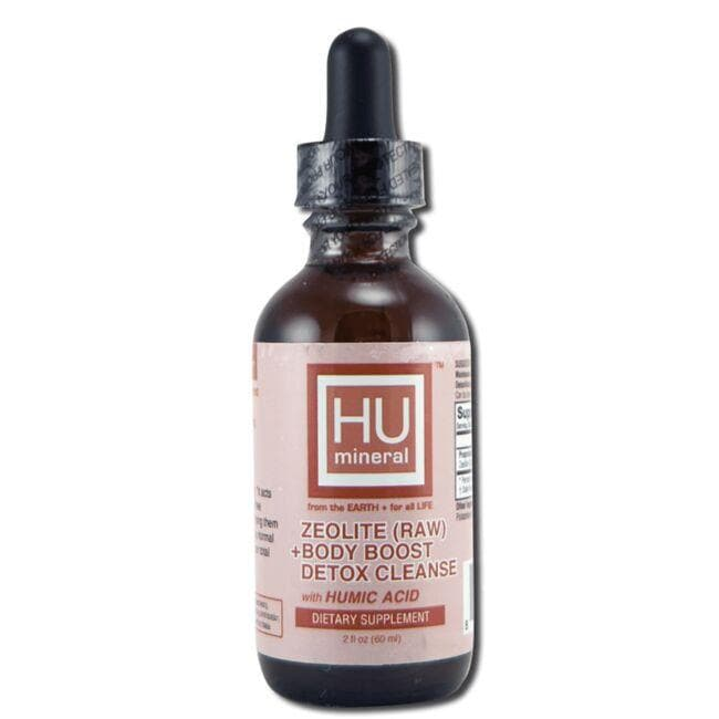HUmineral Zeolite (Raw) + Body Boost Detox Cleanse
