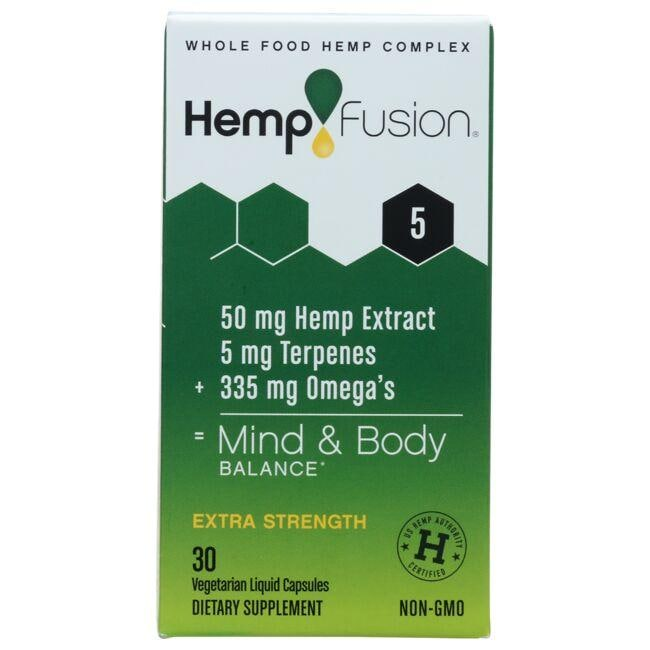 HempFusion Extra-Strength Full-Spectrum Phytocomplex 5.0