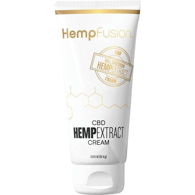 HempFusion CBD Full-Spectrum Hemp Extract Cream