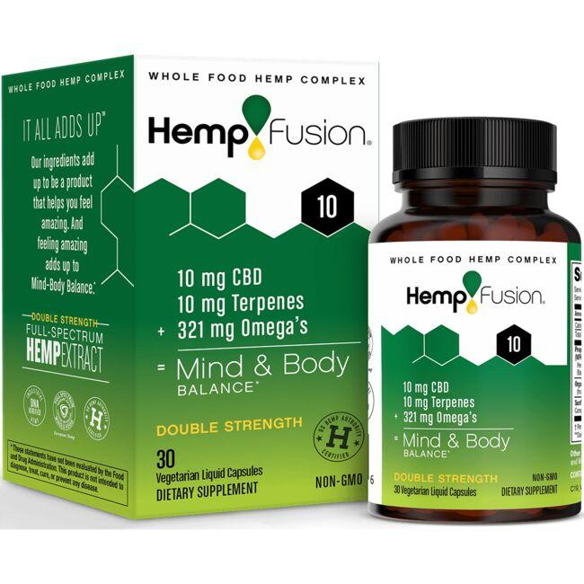HempFusion Double Strength CBD 10