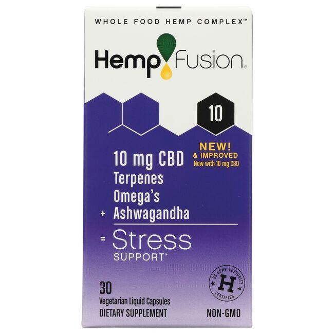 HempFusionCBD + Ashwagandha Stress Support