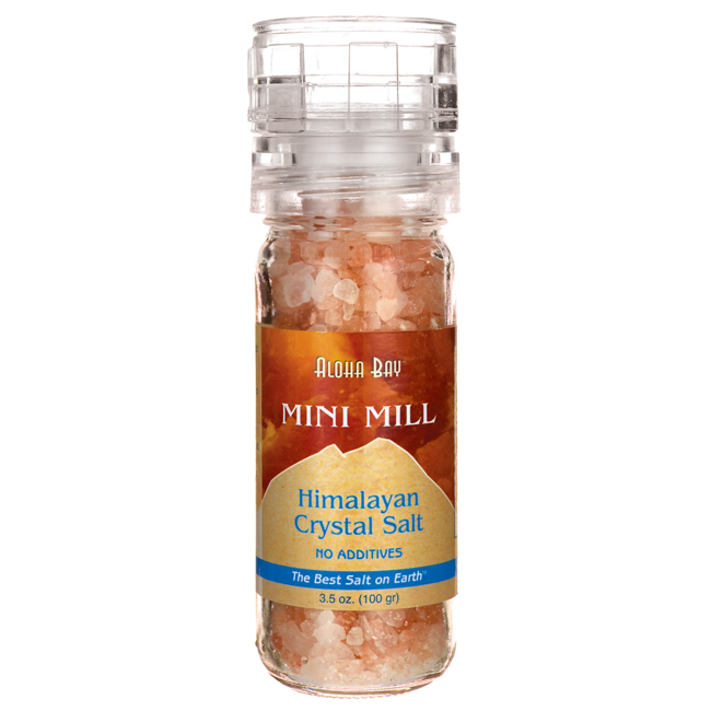 Himalayan SaltMini Mill Crystal Salt With Grinder