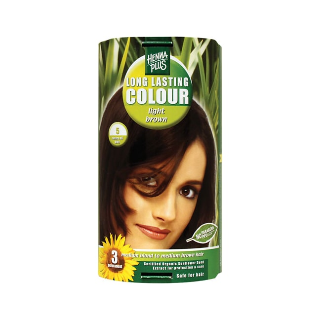 Henna PlusHenna Plus Long Lasting Colour - Light Brown