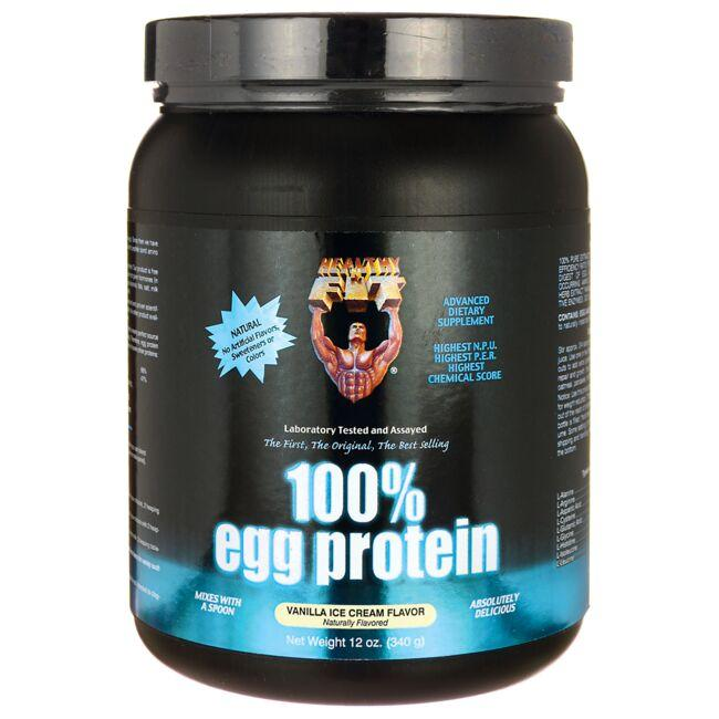 Healthy 'N Fit 100% Egg Protein - Vanilla Ice Cream