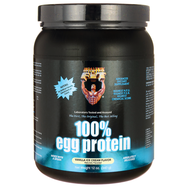 Healthy 'N Fit100% Egg Protein - Vanilla Ice Cream