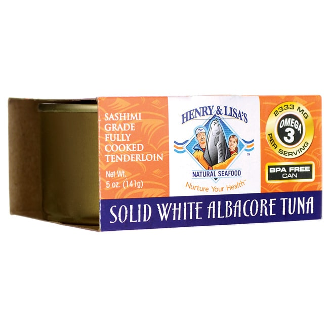 Henry & Lisa's Natural SeafoodSolid White Albacore Tuna
