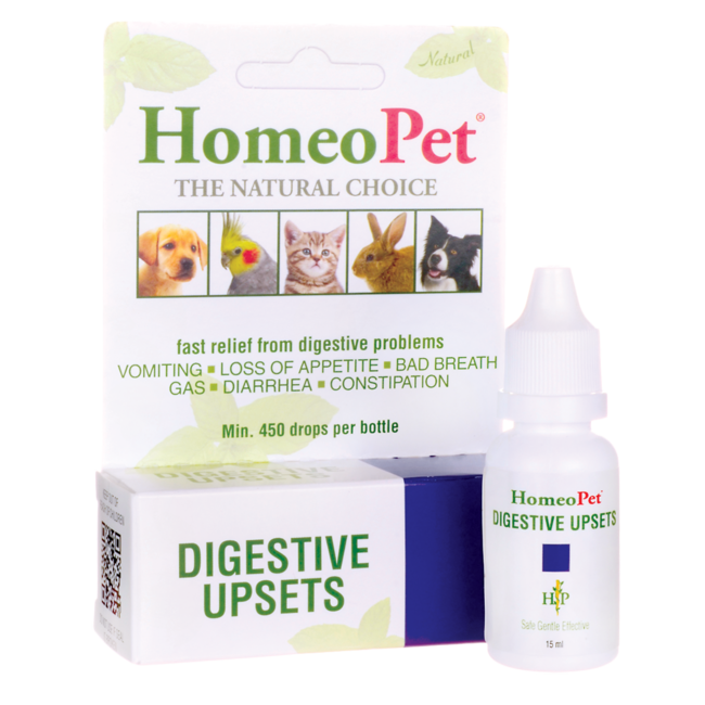 HomeoPetDigestive Upsets Liquid Drops