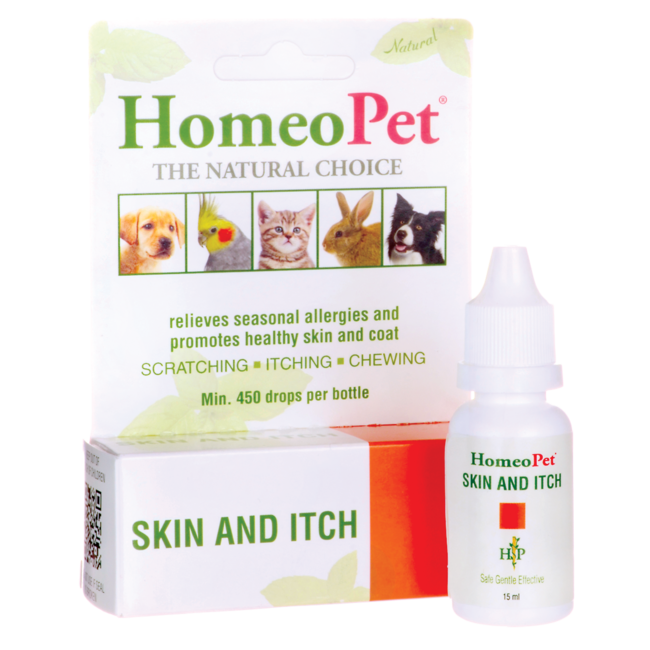 HomeoPetSkin & Itch Liquid Drops