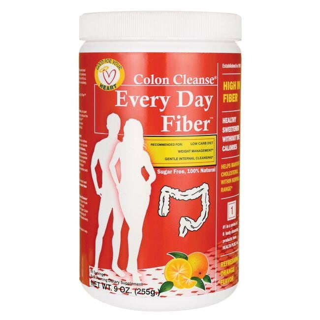 Health Plus Colon Cleanse Every Day Fiber - Refreshing Orange