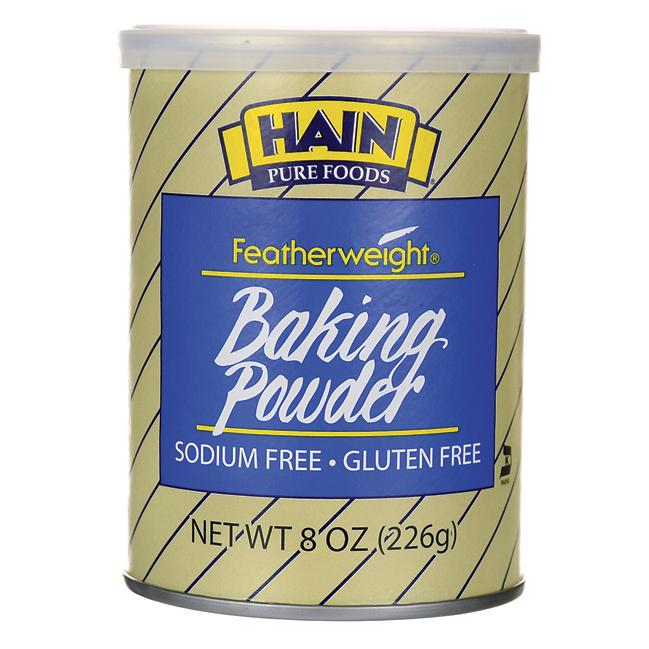 Hain Pure Foods Featherweight Baking Powder