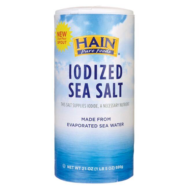 Hain Pure Foods Iodized Sea Salt