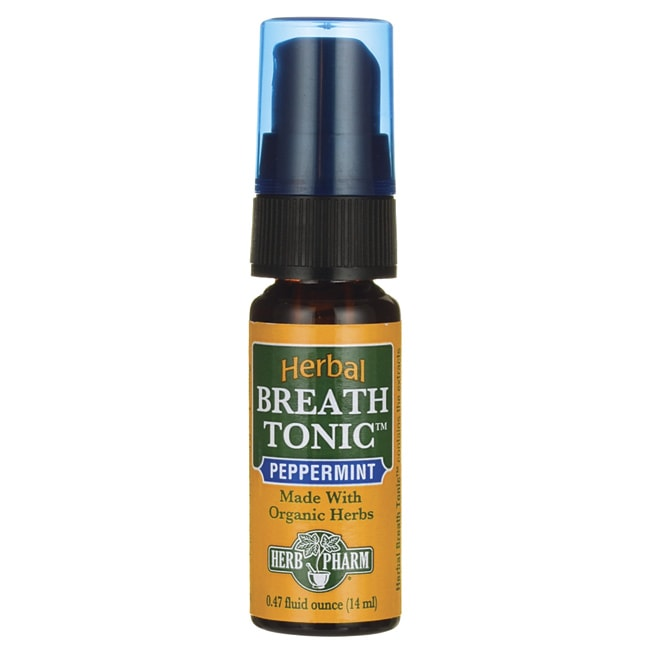 Herb PharmHerbal Breath Tonic - Peppermint