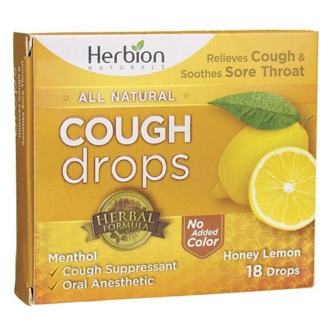 HerbionCough Drops - Honey Lemon