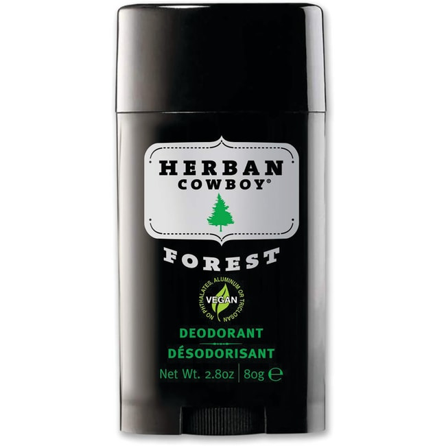 Herban Cowboy Natural Grooming Deodorant - Forest