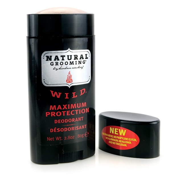 Herban CowboyNatural Grooming Deodorant - Wild