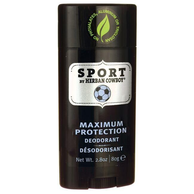Herban CowboyMaximum Protection Deodorant - Sport
