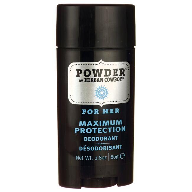 Herban Cowboy Maximum Protection Deodorant - Powder For Her
