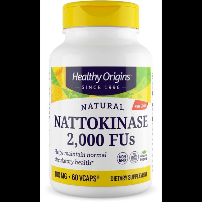 Healthy Origins Nattokinase 2,000 FU's