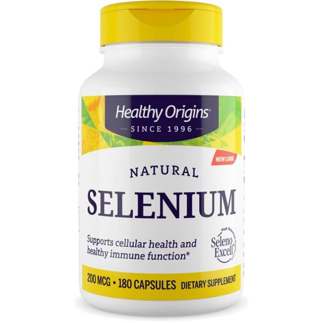 Healthy Origins High Potency Natural Seleno Excell Selenium