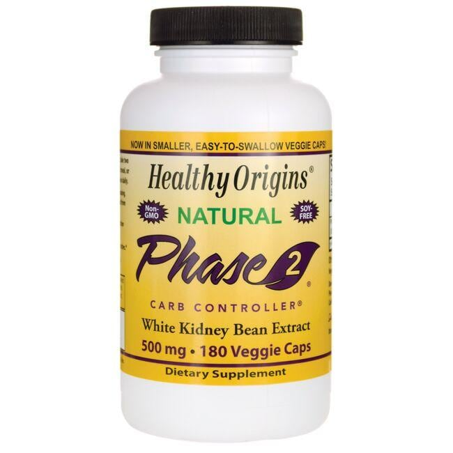 Healthy Origins Natural Phase 2 White Kidney Bean Extract