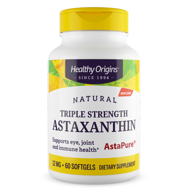 Healthy OriginsNatural Triple Strength Astaxanthin