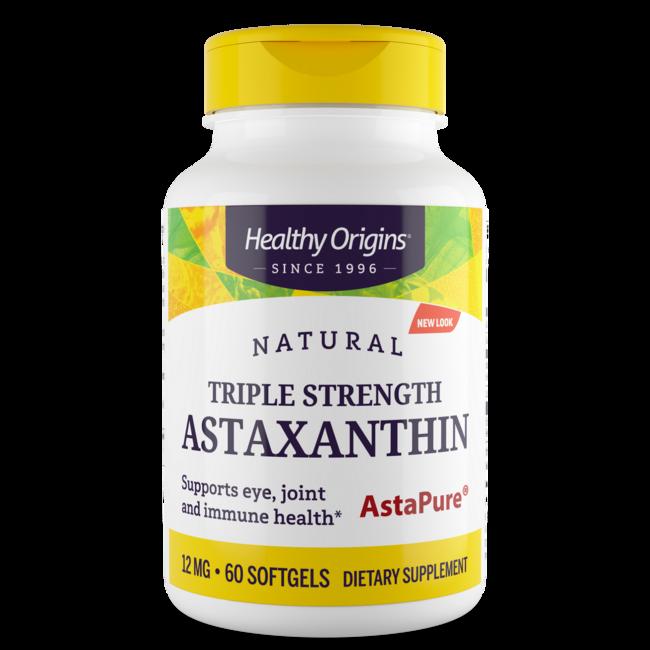 Healthy origins astaxanthin