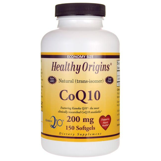 Healthy Origins Natural (trans-isomer) CoQ10