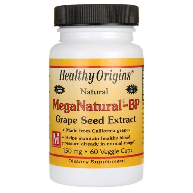 Healthy OriginsNatural MegaNatural-BP Grape Seed Extract